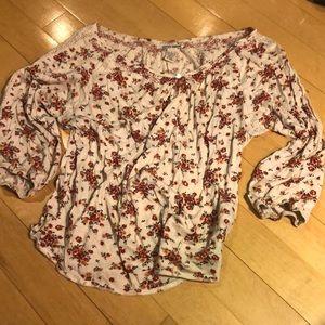 Lucky brand floral shirt!